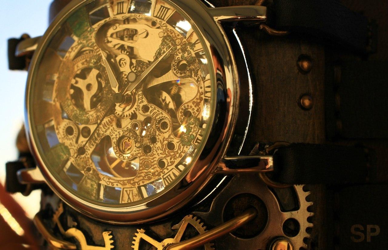 Мужские часы в стиле стимпанк купить